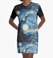 Vestido camiseta La noche estrellada Vincent Van Gogh
