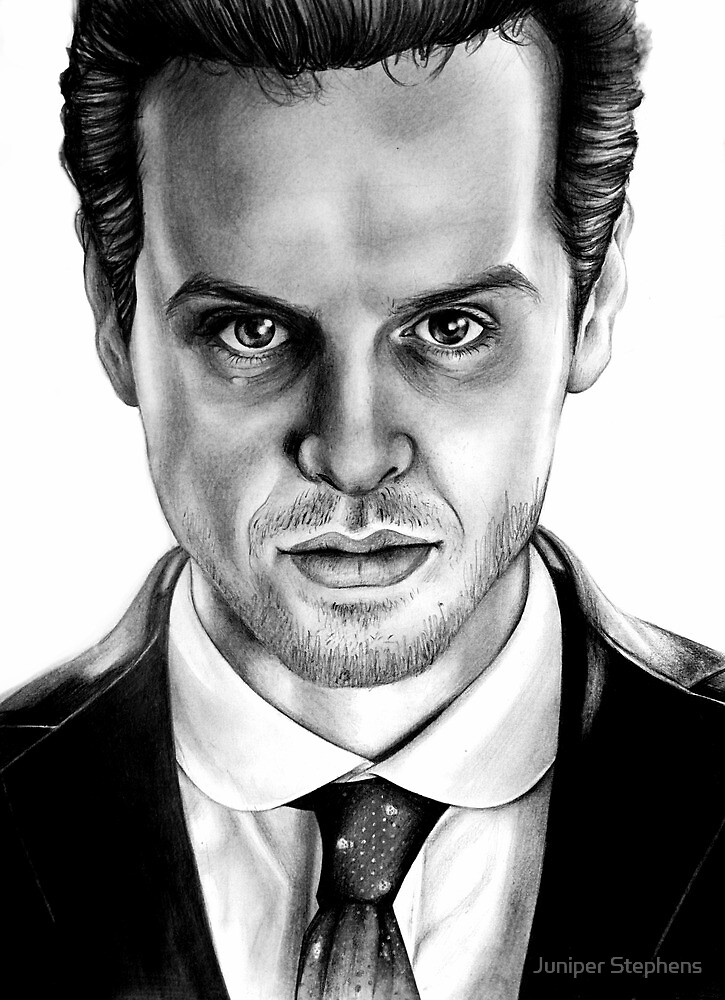 Jim Moriarty Drawing by Daniel Stephens