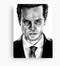 Jim Moriarty Drawing Canvas Print