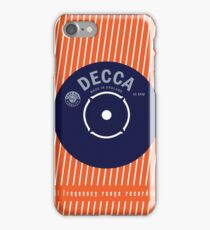 Decca Vintage Record Sleeve Vector iPhone Case/Skin