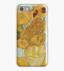 Sunflowers by Vincent Van Gogh iPhone Case/Skin