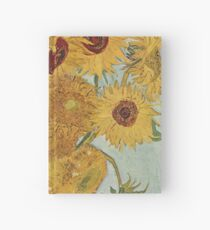 Sunflowers by Vincent Van Gogh Hardcover Journal