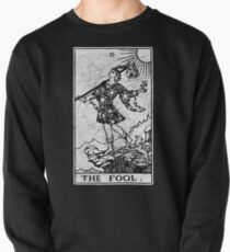 The Fool Tarot Card - Major Arcana - fortune telling - occult Pullover