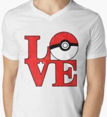 Poke-Love Men's V-Neck T-Shirt
