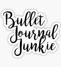 Pegatina Aficionados al diario Bullet