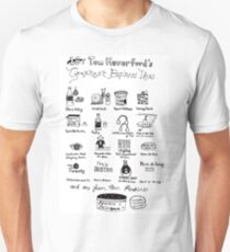 16 of Tom Haverford's Greatest Business Ideas T-Shirt
