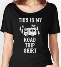 This Is My Road Trip Shirt Women's Relaxed Fit T-Shirt