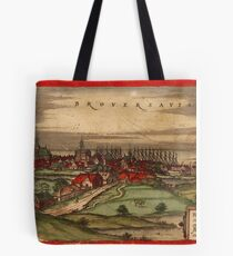 Brouwershaven Vintage map.Geography Netherlands ,city view,building,political,Lithography,historical fashion,geo design,Cartography,Country,Science,history,urban Tote Bag