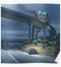 Vorfall am Rande der Stadt Poster