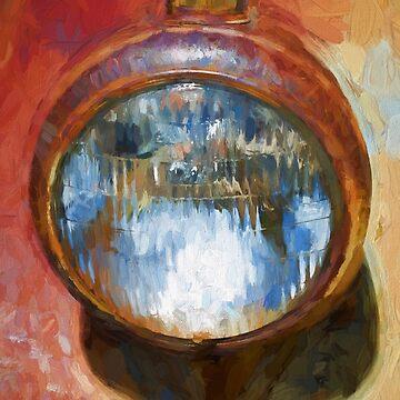 Old Headlamp II by davegordon