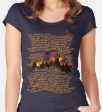 Sonic Adventure 2: Pumpkin Hill Women's Fitted Scoop T-Shirt