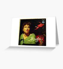 "Maysa - 10"" Brazil, Latin American Lp from South America Greeting Card"