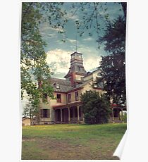 The Mansion at Batsto Poster