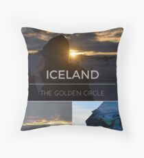 The Golden Circle - Iceland Throw Pillow