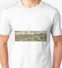 Krakow Vintage map.Geography Poland ,city view,building,political,Lithography,historical fashion,geo design,Cartography,Country,Science,history,urban T-Shirt