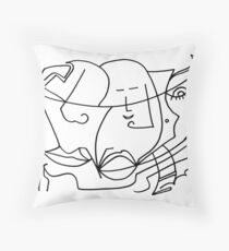After Picasso B14 Throw Pillow