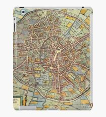 Leuven(2) Vintage map.Geography Belgium ,city view,building,political,Lithography,historical fashion,geo design,Cartography,Country,Science,history,urban iPad Case/Skin