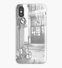 going down the alley, coming up soon iPhone Case/Skin