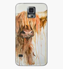 Highland Cow One Case/Skin for Samsung Galaxy