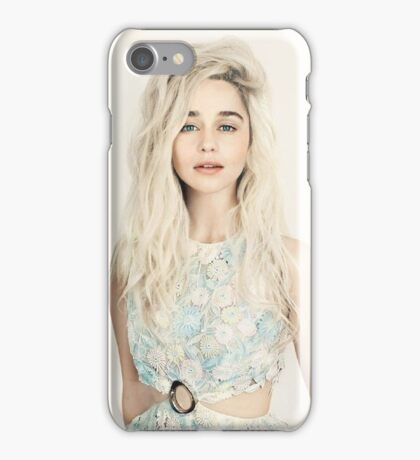 Emilia Clarke, Blonde iPhone Case/Skin