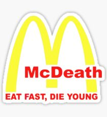 McDeath Sticker
