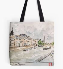 Paris Seine River Tote Bag