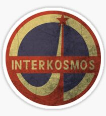 Interkosmos Sticker
