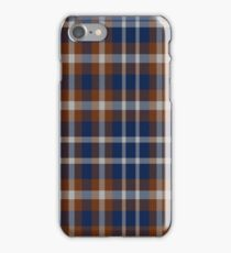 02382 Wake County, North Carolina Fashion Tartan  iPhone Case/Skin