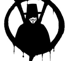 V for Vendetta - We Are Anonymous Sticker