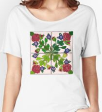 Portuguese Tiles Women's Relaxed Fit T-Shirt