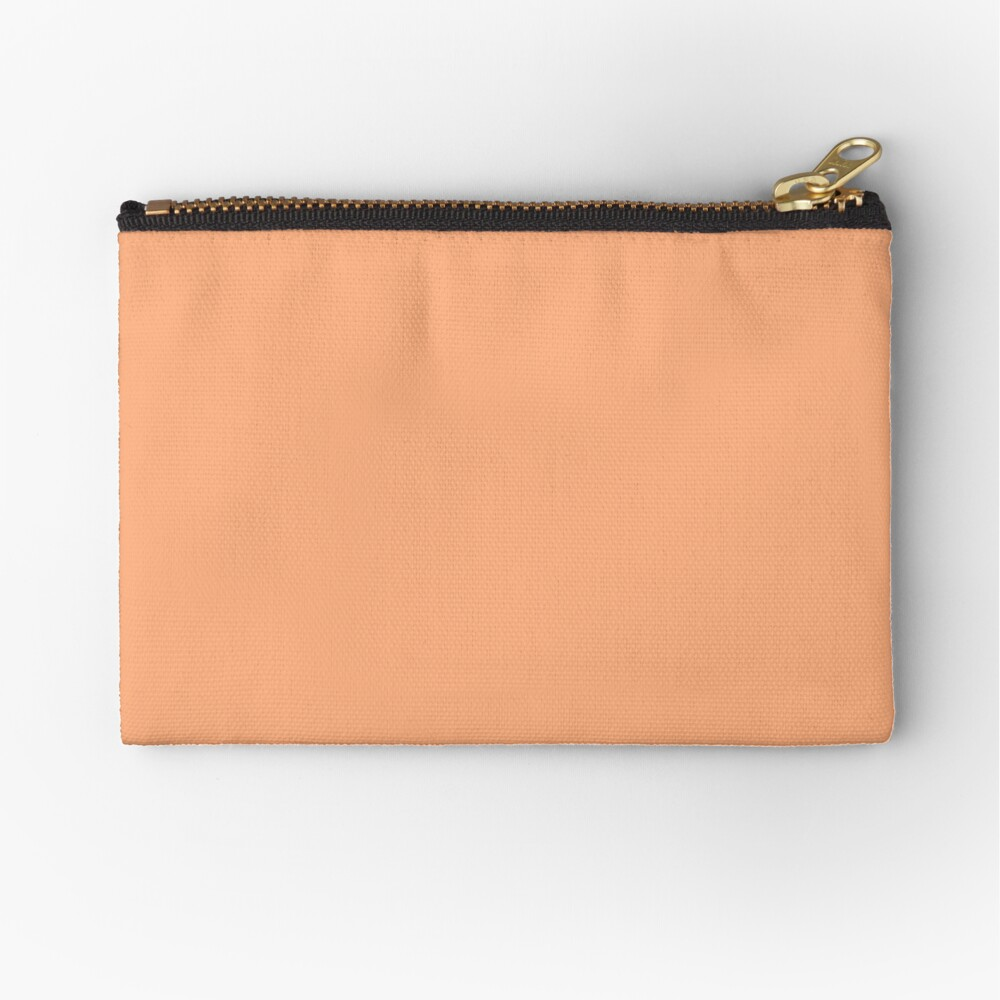 Peach Cobbler  Zipper Pouch