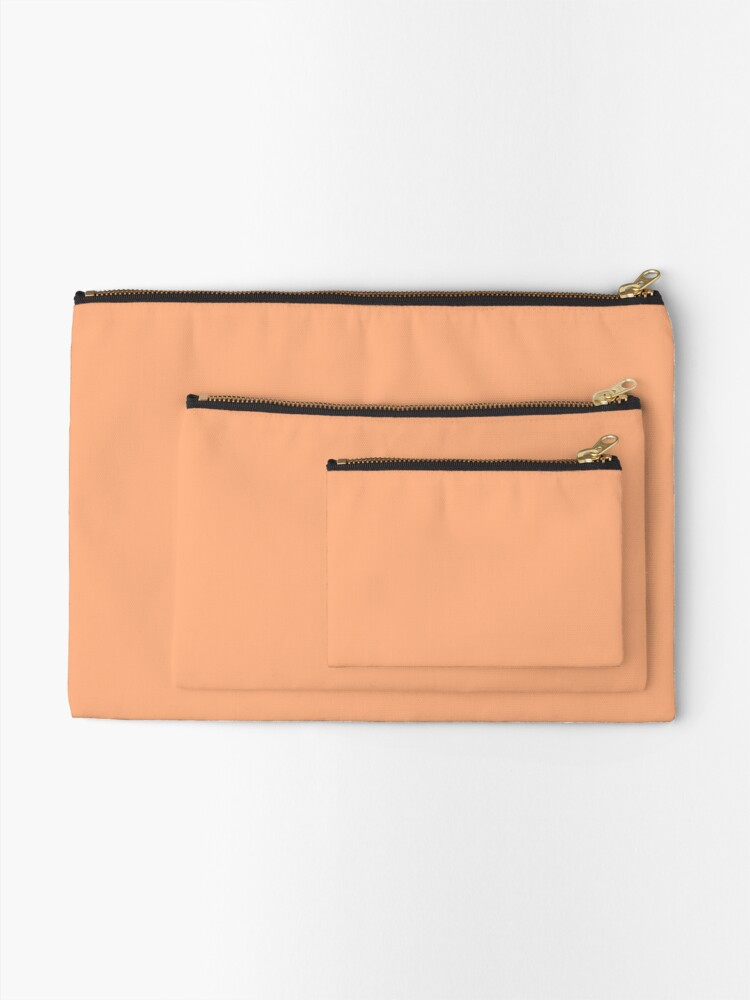Alternate view of Peach Cobbler  Zipper Pouch