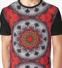 Mosaic Kaleidoscope 2 Graphic T-Shirt