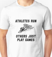 Athletes Run T-Shirt