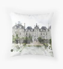 Chateau Print Throw Pillow