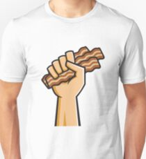 Hand holding Bacon T-Shirt