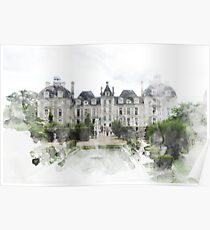 Chateau Print Poster