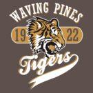 Waving Pines Tigers by Steve Harvey