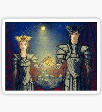 night lords Sticker