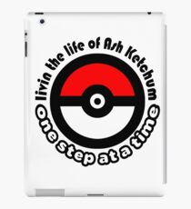 pokemon ash ketchum iPad Case/Skin