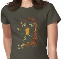 Fairy tree Womens Fitted T-Shirt
