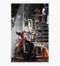 Hard Enduro bikes  Photographic Print