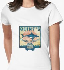 Quint's Shark Fishing Women's Fitted T-Shirt