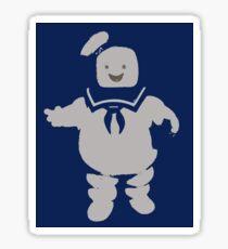 Mr. Stay Puft Marshmallow Man Sticker