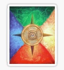 Five Elements of Magick Sticker