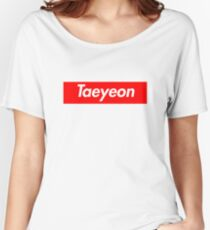 Taeyeon Supreme Why Women's Relaxed Fit T-Shirt