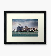 Detroit From Belle Isle Framed Print