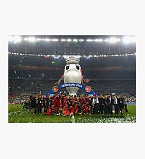 Portugal celebration euro 2016 Photographic Print