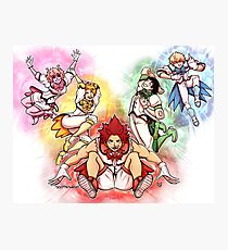 Baku Squad Magical Boys Photographic Print