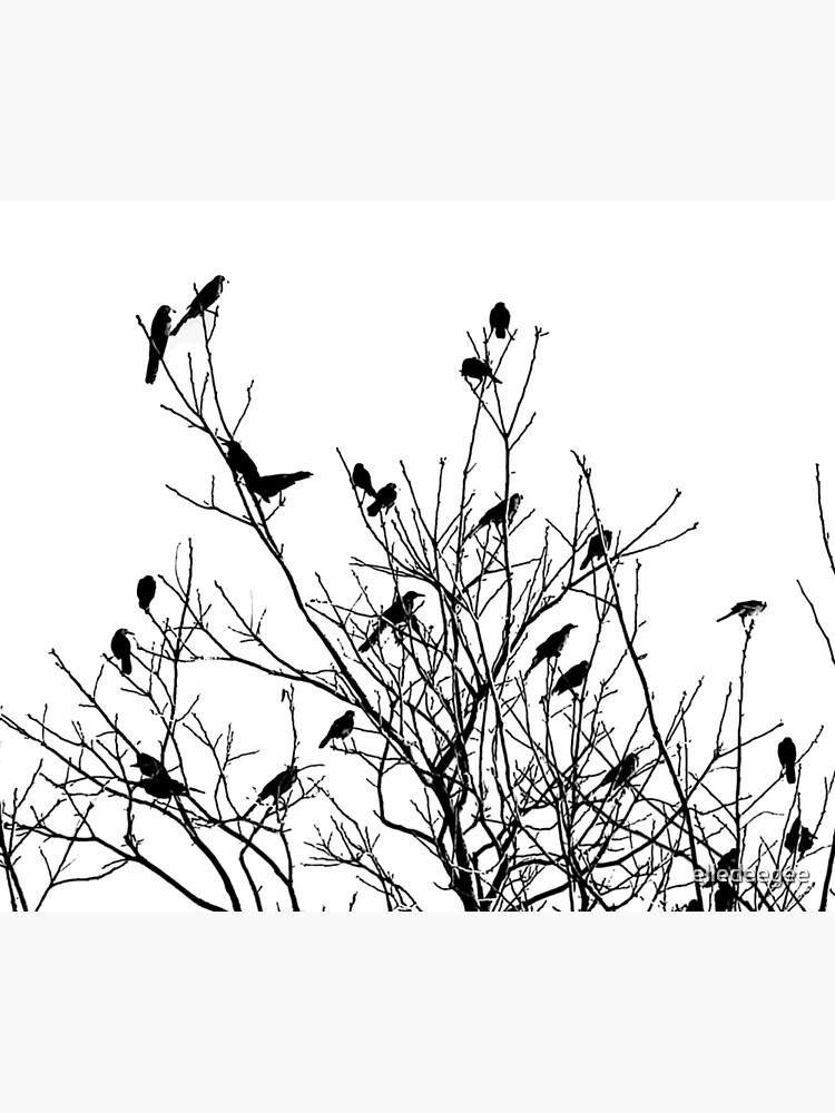 Grackle Tree by elledeegee